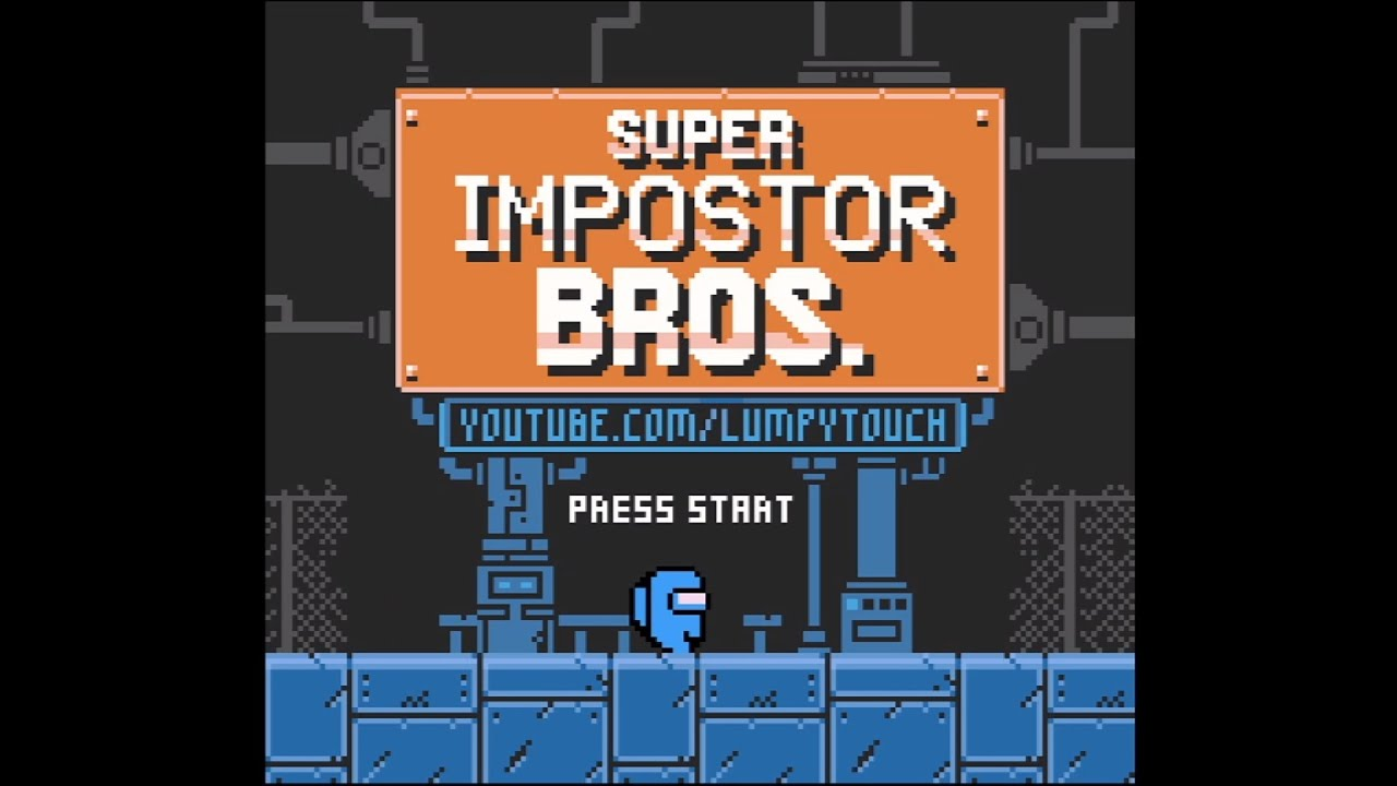 Super Impostor Bros: Among Us para o Game Boy Color