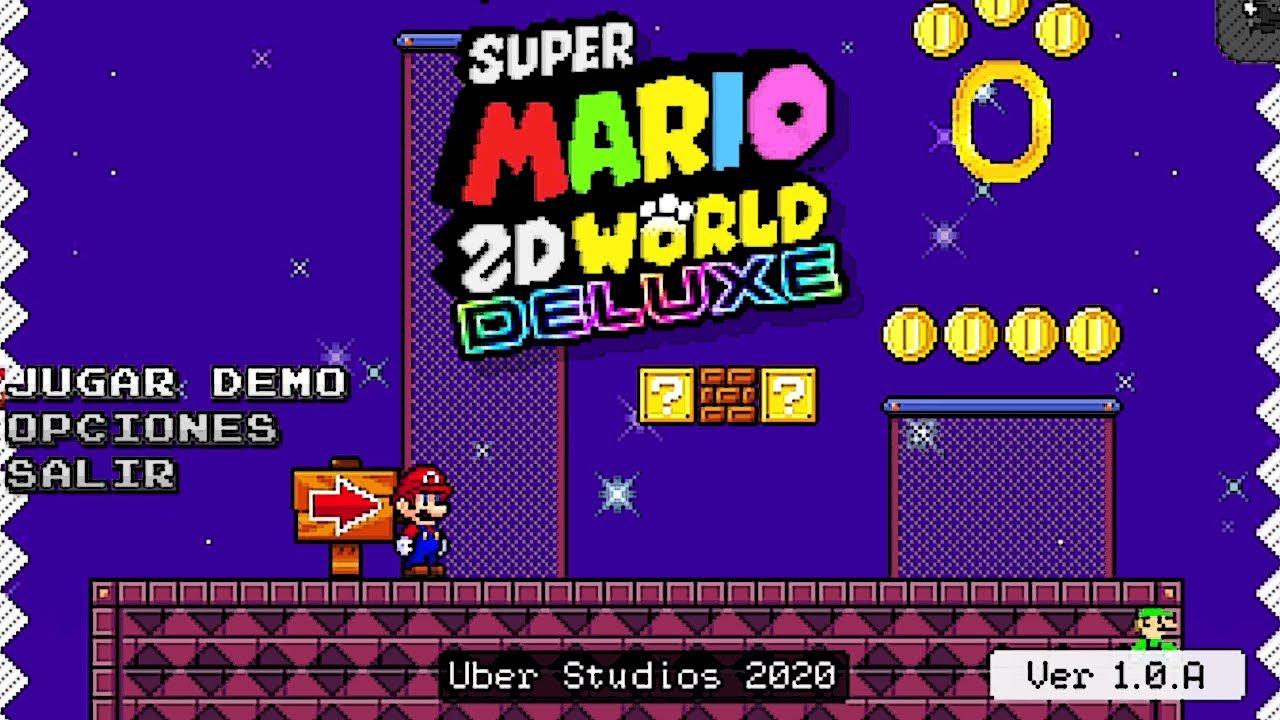 Super Mario 2D World Deluxe: O melhor fan game do Mario!