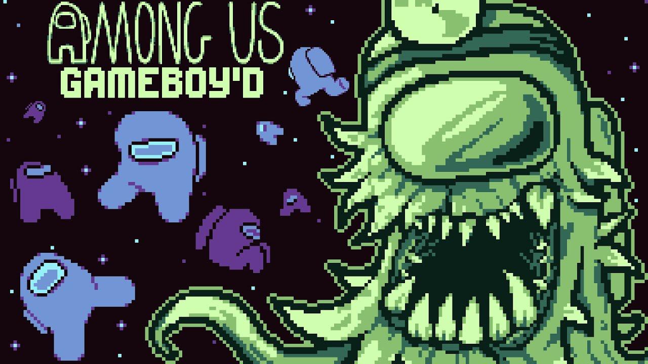 Among Us reimaginado para Game Boy