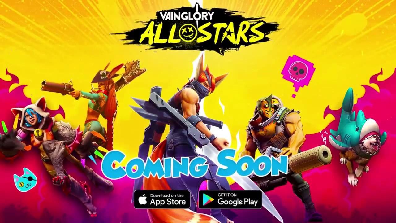 Vainglory All Stars é um brawler 3v3 em tempo real!