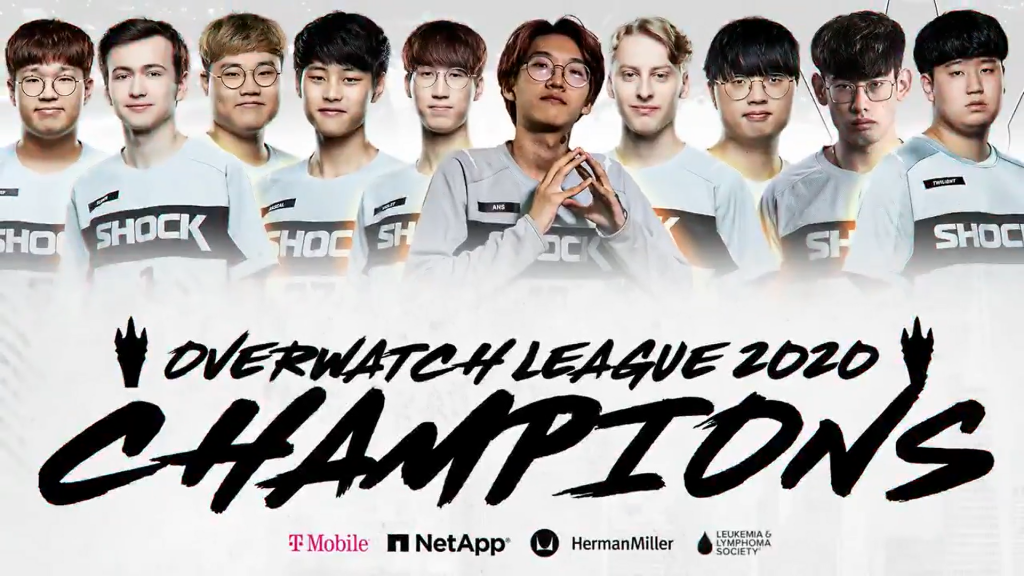San Francisco Shock sagram-se BI-CAMPEÕES da Overwatch League